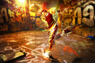 Dance On Music Colorful Boy 8k Wallpaper