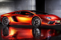 Lamborghini Aventador supercar