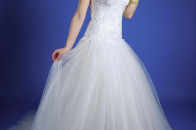 Bridal Girl With White Dress Photo