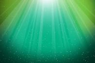 Aurora, burst, green