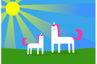 1024x770 Animated Unicorn Backgrounds Picture to Pin on Pinterest