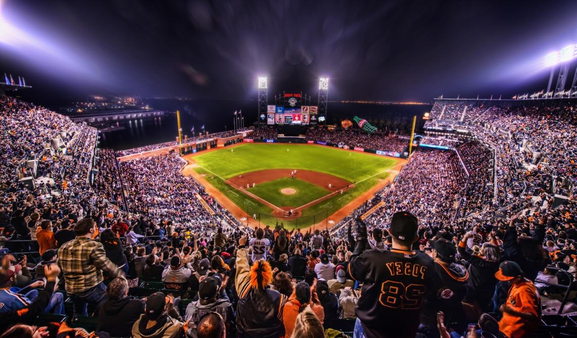 Giants, baseball, arena