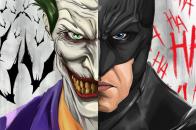 Joker and batman ux