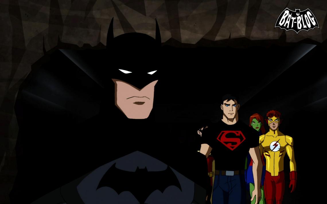 Batman superman Cartoon Young Justice