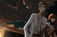 Okabe Rintarou and Makise Kurisu HD wallpaper