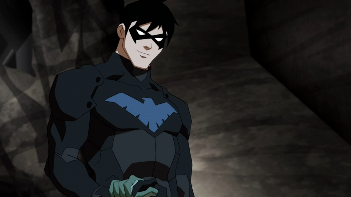 Young Justice Nightwing Wallpaper