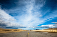 Afternoon Time Photography In Alone Road And Amazing Moment With Nature Wallpaper