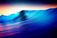 4k rolling waves 3840x2160