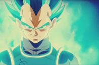 Super saiyan vegeta blue, desktop background