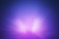 Purple, aurora