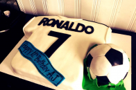 Cristiano ronaldo birthday cake
