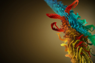 3D Abstract Feather Ultra 4k Desktop Background