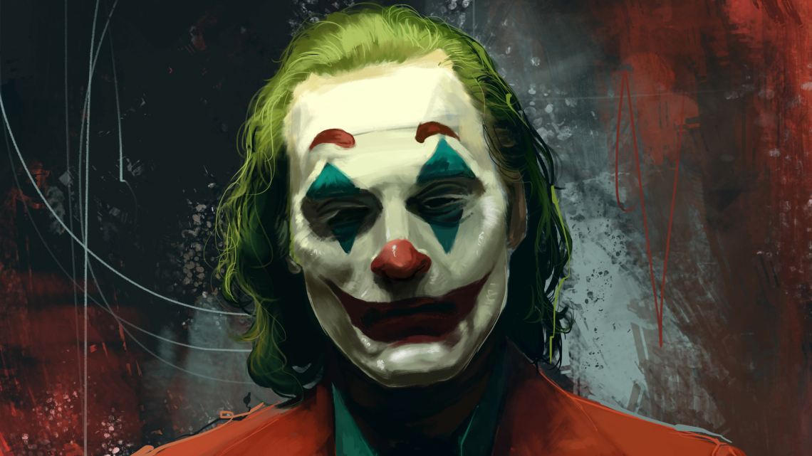 Joker joaquin phoenix movie artwork k1