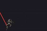 Stormtrooper star wars, black background