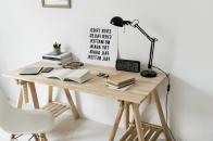 Minimal workspace motivational quot