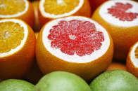 Red Orange and Green Apple