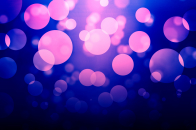 Purple bokeh desktop