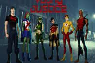 Young Justice The Image Kid team