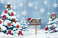 Merry, christmas 8k