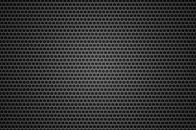 Black background metal hole