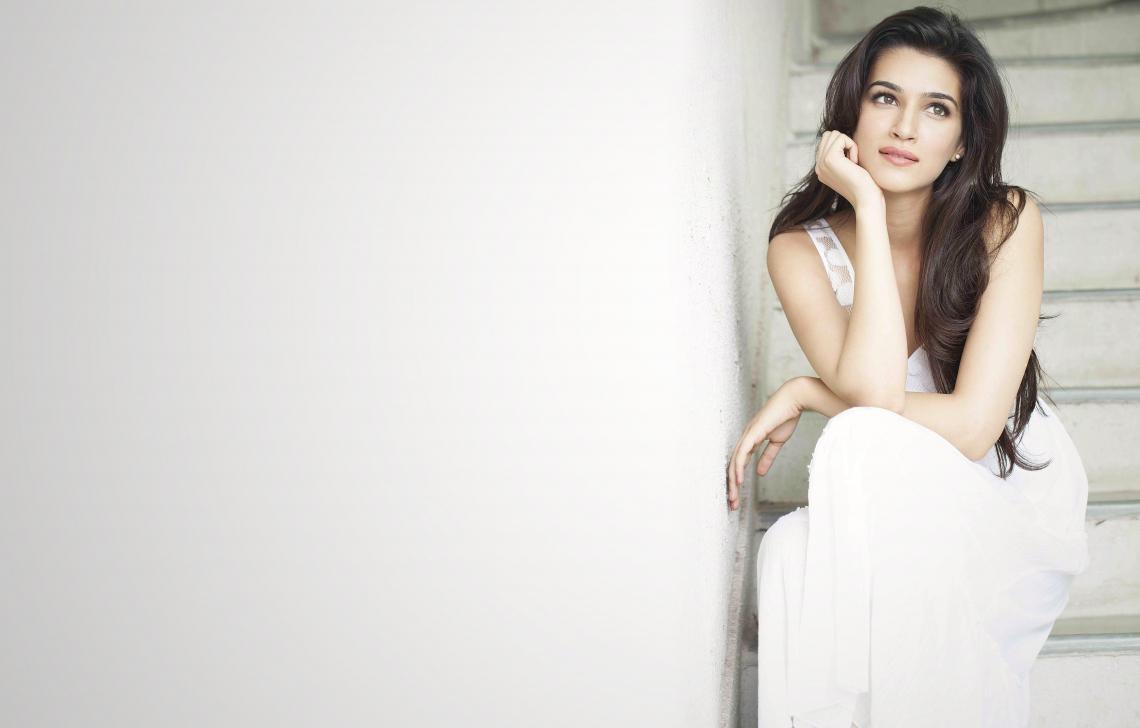 Kriti Sanon bollywood actress model girl beautiful brunette pretty cute beauty pose face eyes hair lips smile indian