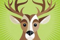Vector Art Deer