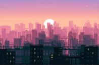Bit Pixel Art City