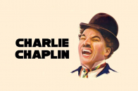 Smiling face Charlie Chaplin