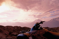 Honda Forest 4 Wheels Bike Stay In Mountains