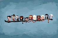Doctor Who, The Doctor, TARDIS, David Tennant, Matt Smith, Christopher  Eccleston, Tom Baker, Owl, Artwork