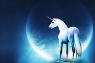 1366x768 Abstract Unicorn Wallpaper