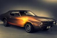 Mustang road car