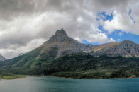 Saint mary lake glacier national park montan