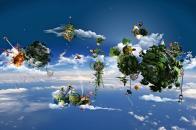 HD Wallpaper 3D Fantasy Sky Islands