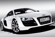 White Audi Car Desktop 4K Wallpaper