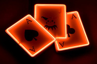 Fire Game Cards Widescreen 1080P 3D Nature image