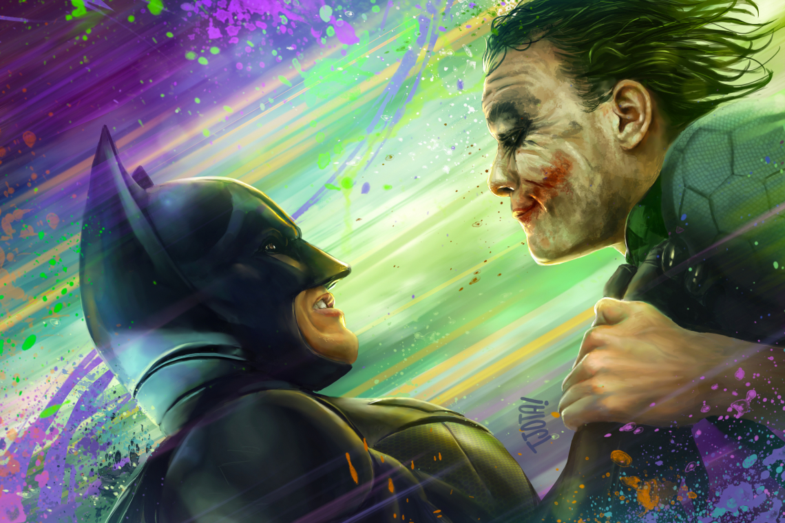 Batman joker the interrogation lb