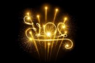 Happy, new, year, 2015, fireworks