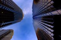 City Tower 8K Wallpaper